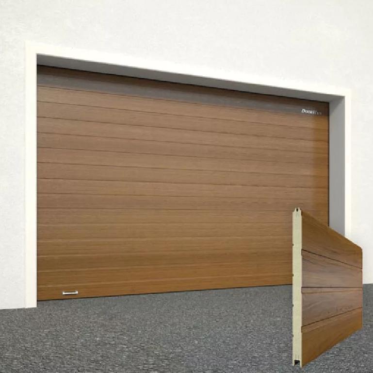 Секционные гаражные ворота DoorHan RSD02 3000х2500 с торсионным механизмом купить в Белгороде