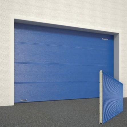 Ворота секционные гаражные RSD01SC 3000х2515 синие RAL-5005 купить в Белгороде
