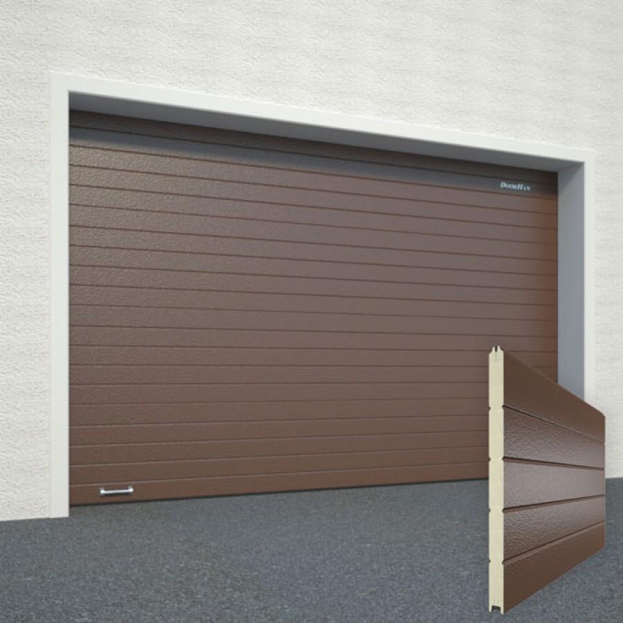 Секционные гаражные ворота DoorHan RSD02 2500х2400 с торсионным механизмом купить в Белгороде