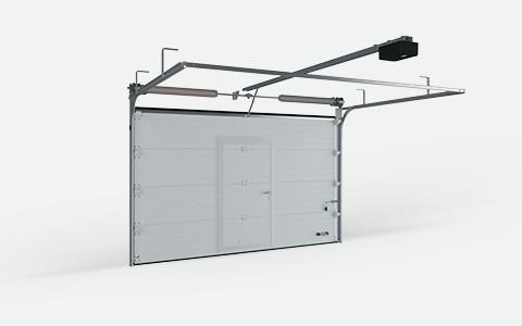 Секционные гаражные ворота DoorHan RSD02 с торсионным механизмом купить в Белгороде