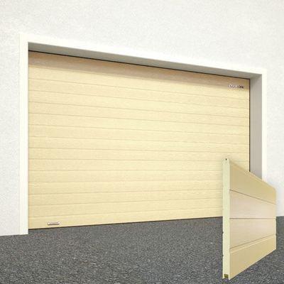 Ворота секционные гаражные RSD01SC 2500х2390 бежевые RAL-1014 купить в Белгороде