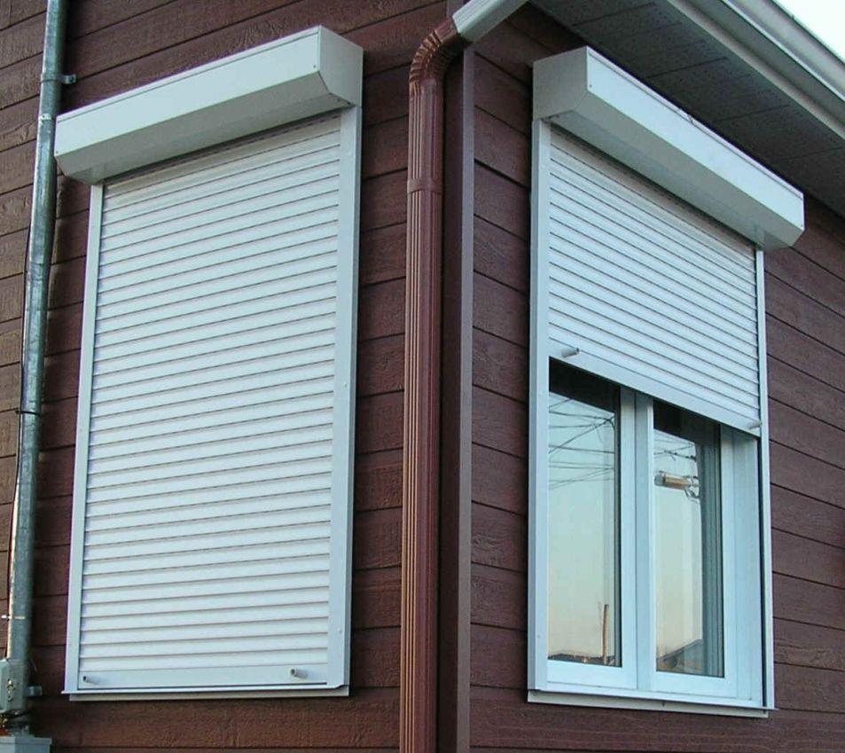 Рольставни DOORHAN 1300х1450 мм на окна купить в Белгороде