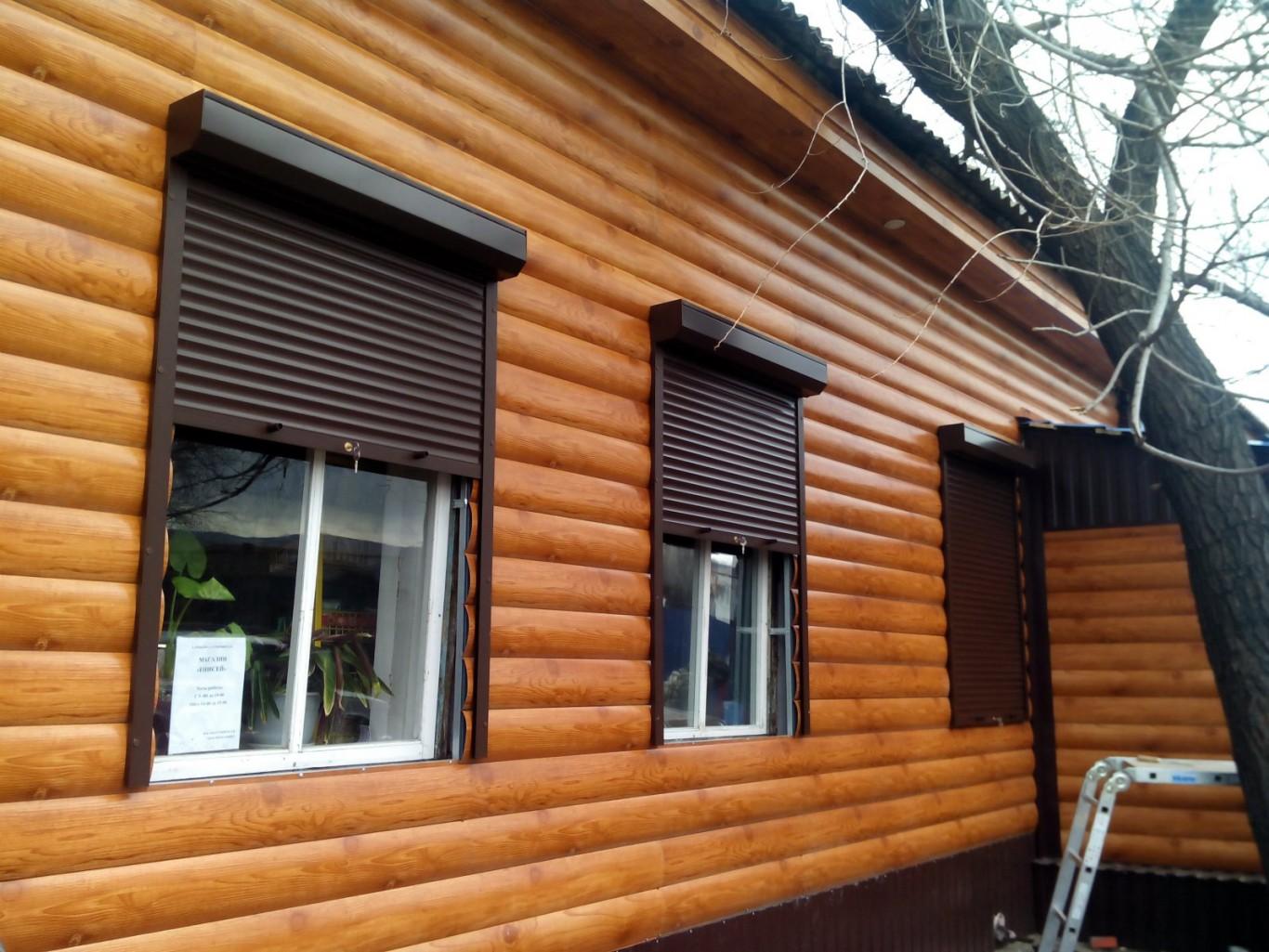 Рольставни на окна наружные купить в Белгороде